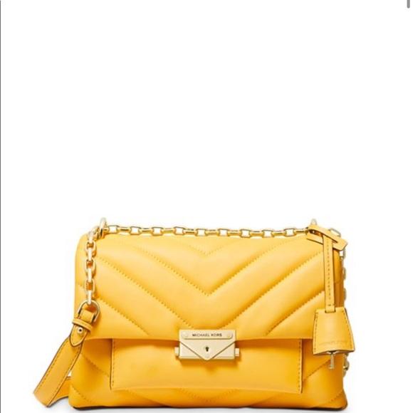 Michael Kors Handbags - Cece Medium Quilted Leather Convertible Shldr  Bag